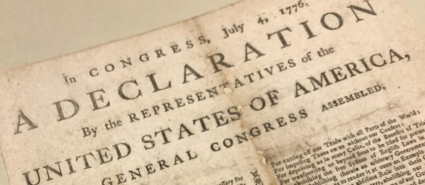 Digitizing the Declaration of Independence – Associates of the